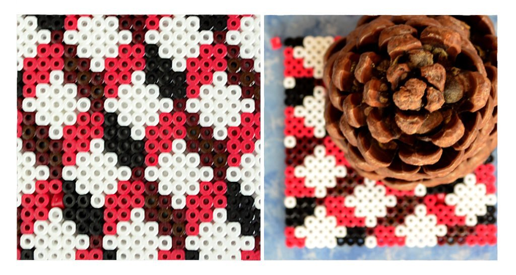 Bügelperlen freies Muster - DIY - Zapfe - Ms Hey