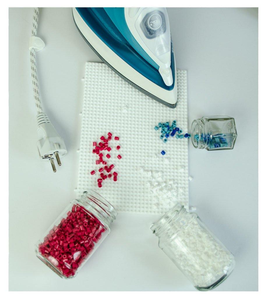 Material für Bügelperlen Untersetzer - DIY - Ms Hey