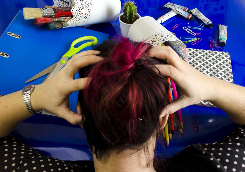 Ein Designstudium bedeutet manchmal Chaos auf dem Schreibtisch und im Kopf