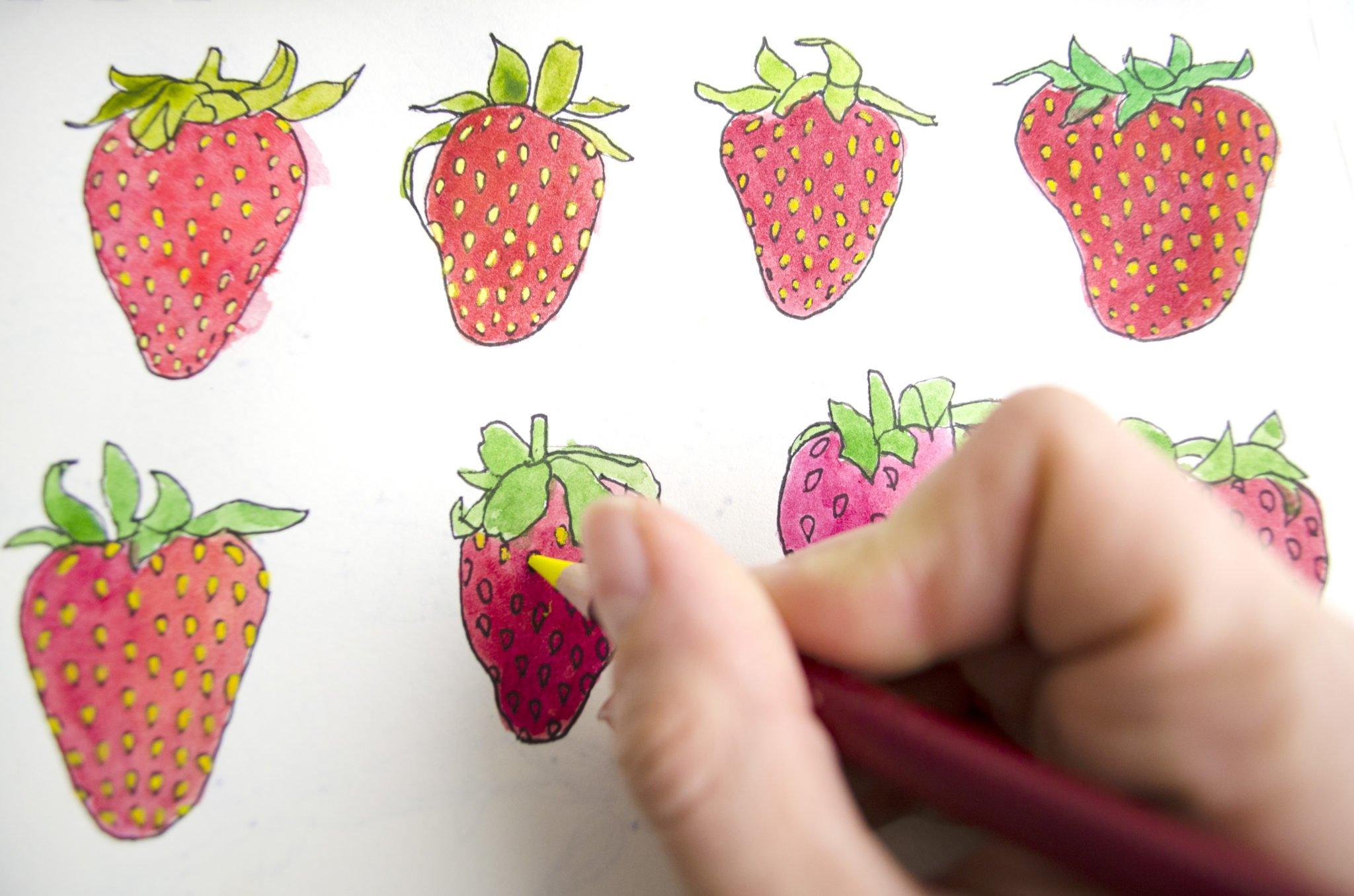 So zeichnet Ms.Hey! ihre Motive für digitale Musterentwürfe