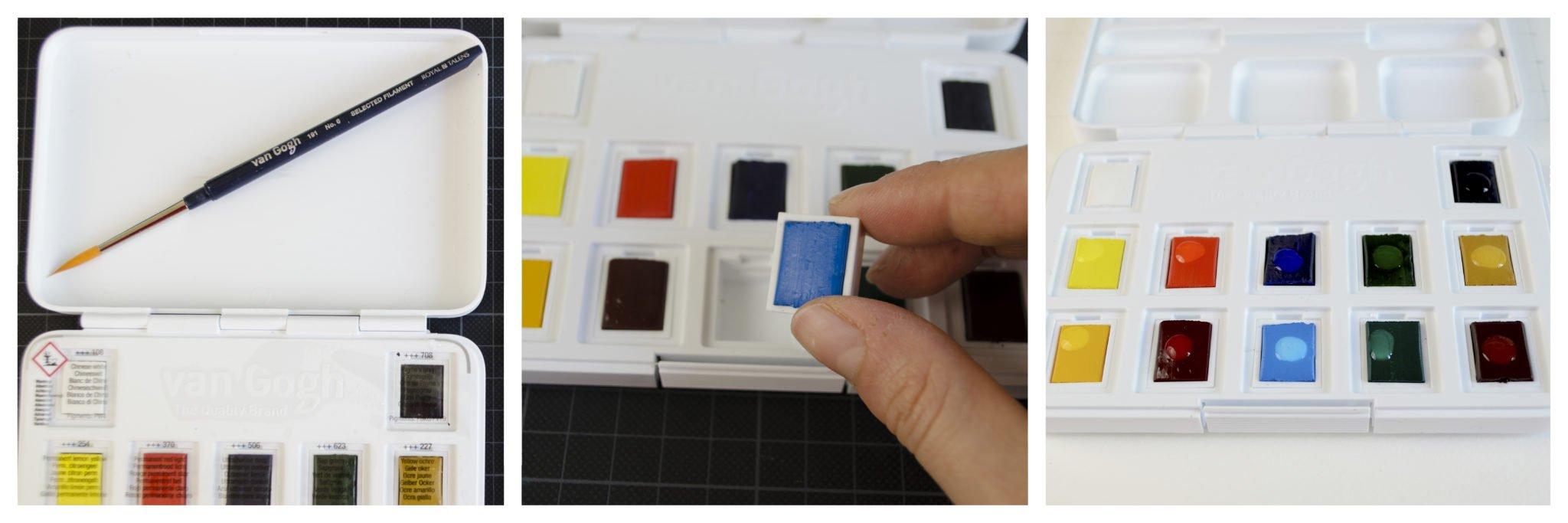 Verschiedene Blickwinkel auf die van Gogh Pocket Box