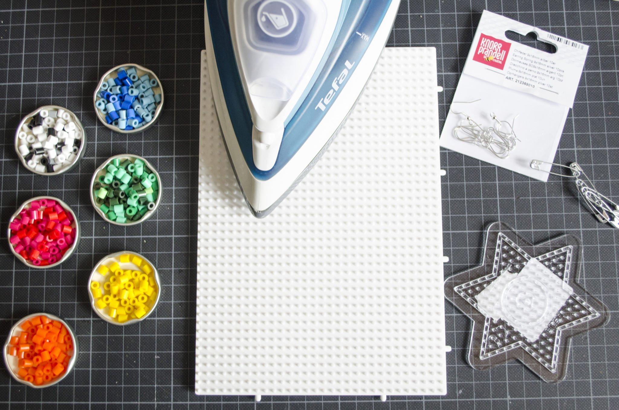 Das benötigst du an Material für Schmuck aus Bügelperlen