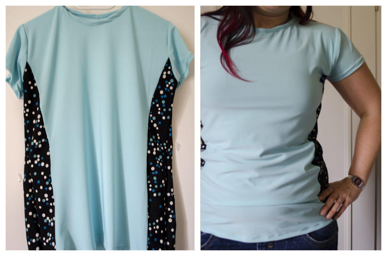 Follow Along Basic T Shirt Nähen Ms Hey Textildesign