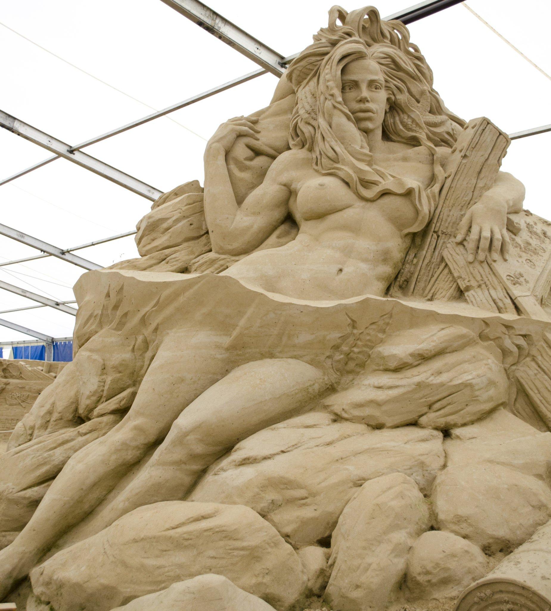 Lore Lay Sandskulpturen