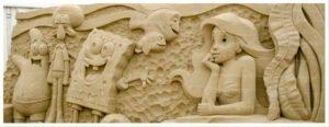 Sandskulpturen auf Usedom