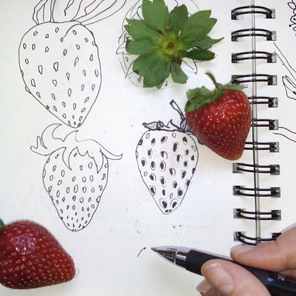 Methode Happy Fruit- Erdbeere Ms.Hey!_textildesign_