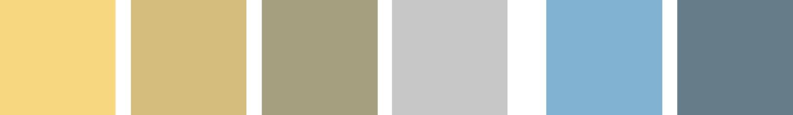 Petite Joie Color SchemeBlau-Beige-Grau