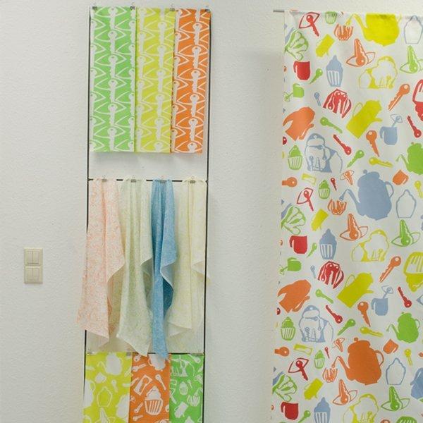 Petite Joie Flächenvorhang Scherenschnitte Küche Multicolor und Musterentwürfe