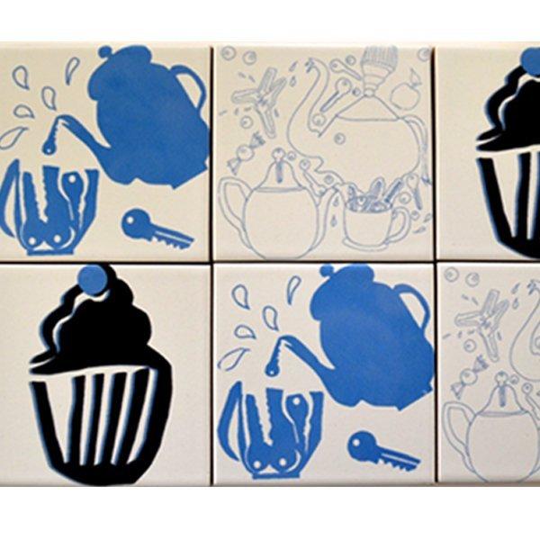 Petite Joie Fliesenspiegel Cup Cake- Kanne- Elefant