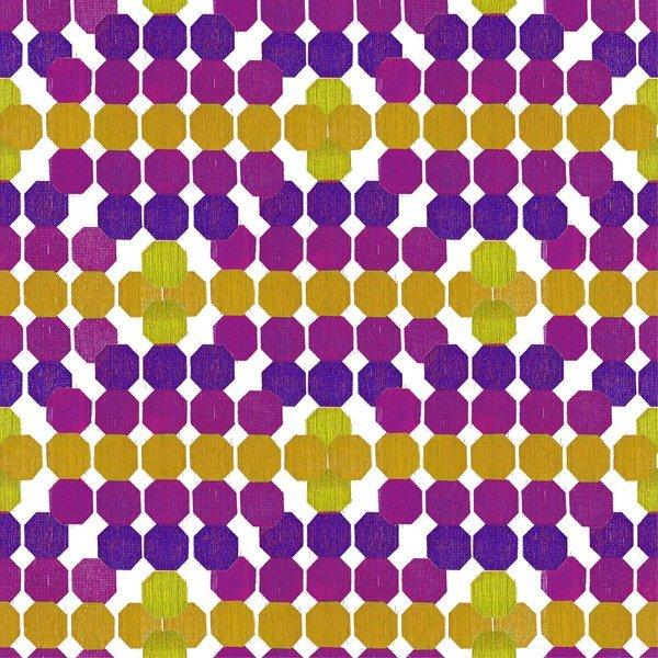 Strodisign Octagon Yellow Violet Ms.Hey!