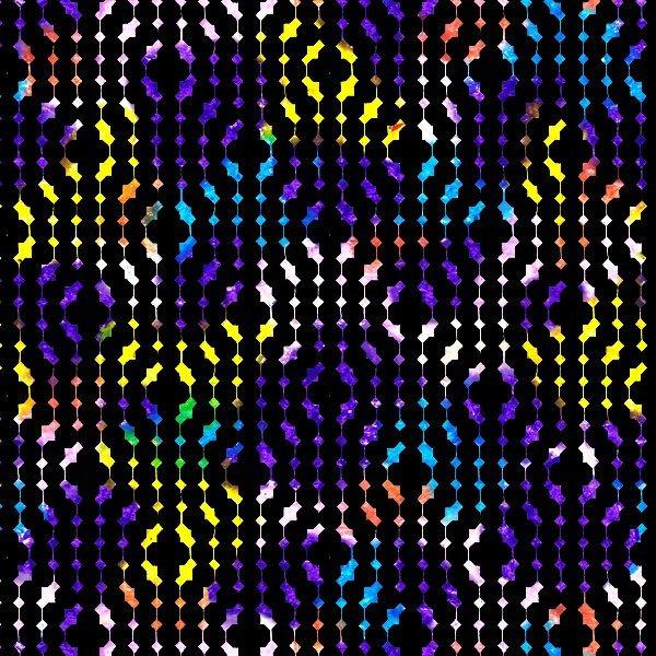 Strodisign Wax Crayon Blots and Black Geometric Design ms.Hey!