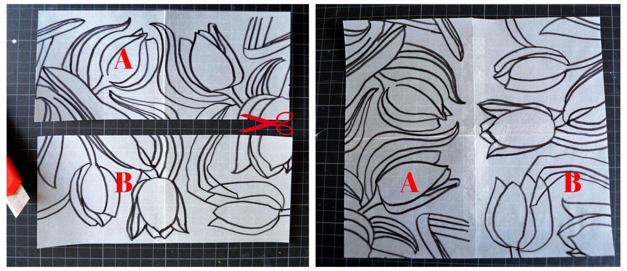Rapport von Hand zeichnen Schritt3