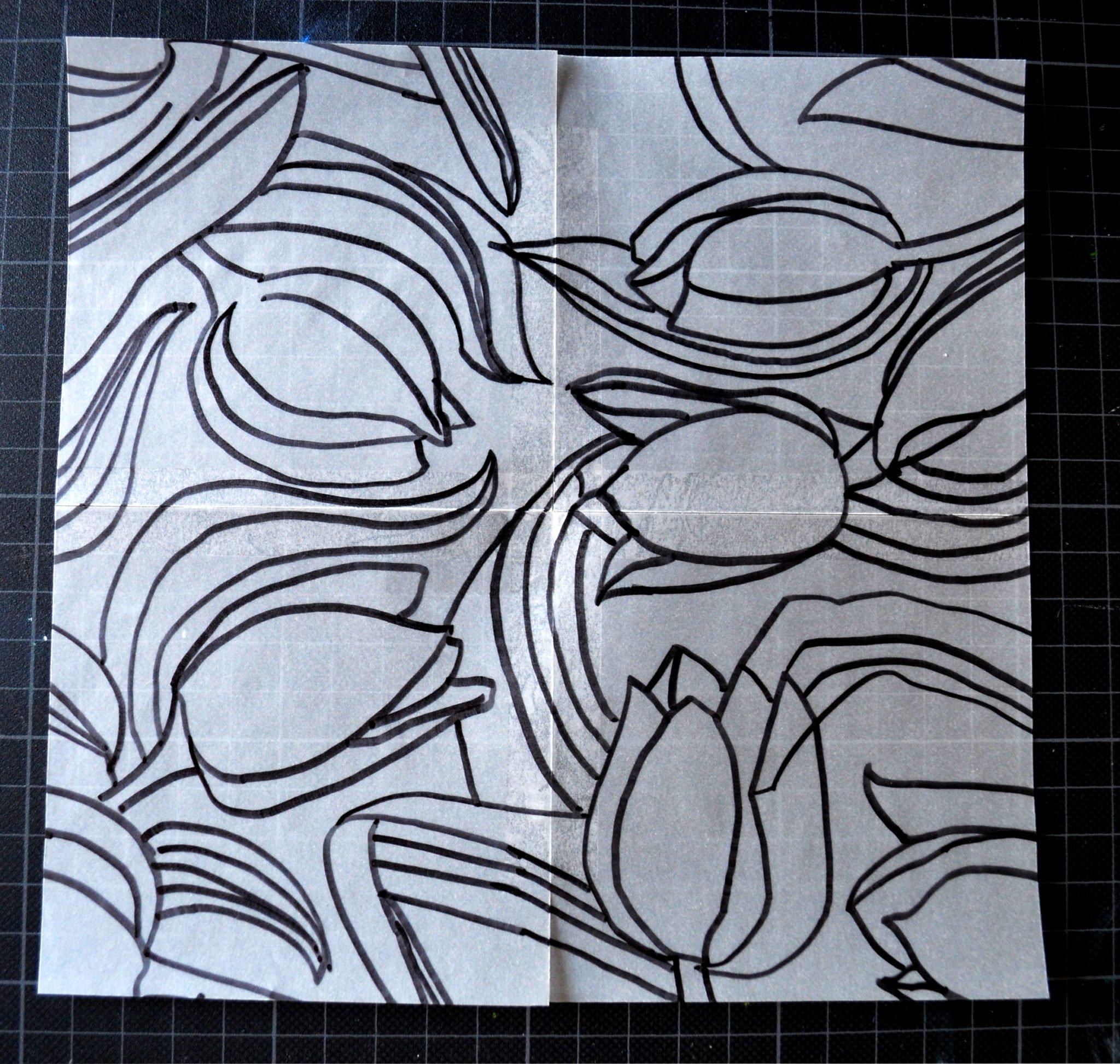 Rapport von Hand zeichnen Schritt 3b zeichnen
